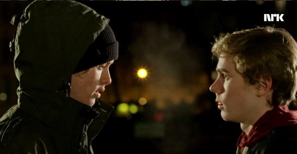 SKAM 3: Even (Henrik Holm) og Isaks (Tarjei Sandvik Moe) forhold «får nettet til å gråte».