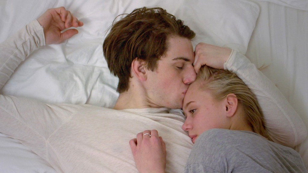 SKAM: William (Thomas Hayes) og Noora (Josefine Frida Pettersen).
