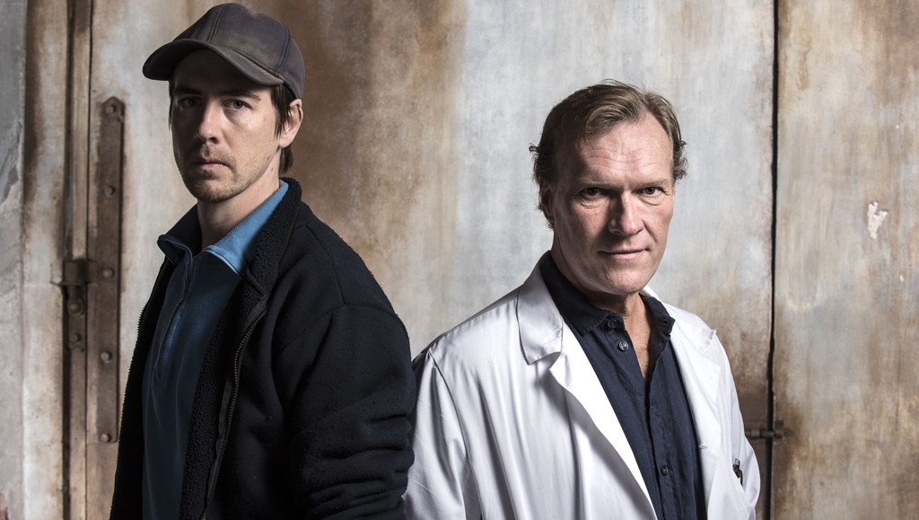 Pål Sverre Hagen og Svein Nordin er klare med hovedrollene i dramaserien Valkyrien.
