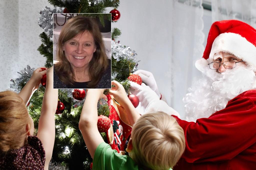 JULENISSEN: Lærer og tobarnsmor Catarina Thestrup mener det aldri er lov til å lyve til barna sine, selv ikke om julenissen.