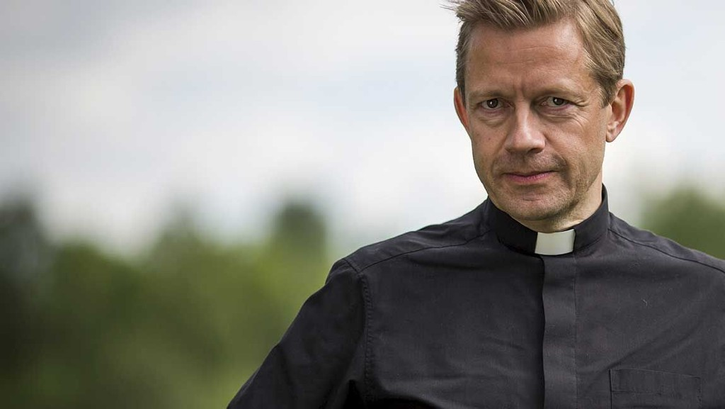 ARVER TRONEN: Bjarte Tjøstheim får humorserie midt i beste sendetid på NRK.