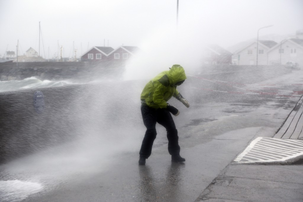 "EKSTREMBVÆR: the Community is put in readiness when the extreme weather alert. Here from then handle the extreme weather ""Ole"" hit country."