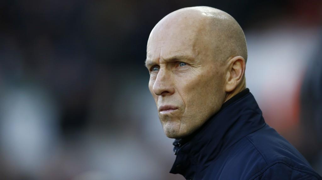 SPARKET: Swansea må ut på trenerjakt etter at de sparket Bob Bradley tirsdag.