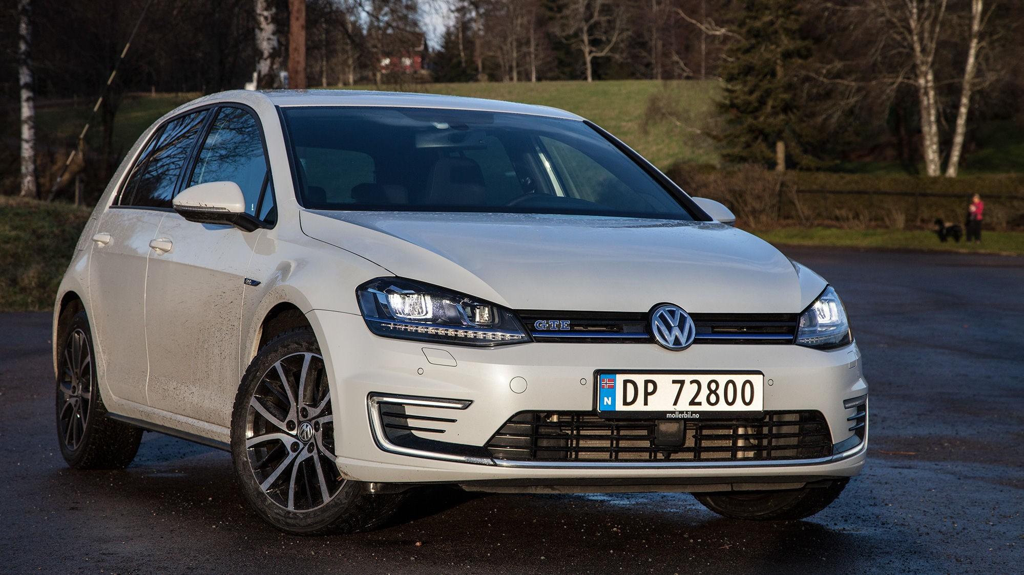 STORT UTVALG: Skal du kjøpe en Golf, kan du velge mellom diesel, bensin, ladbar hybrid eller ren eldrift. I tillegg finnes det ladefrie hybrider og hydrogenbiler.