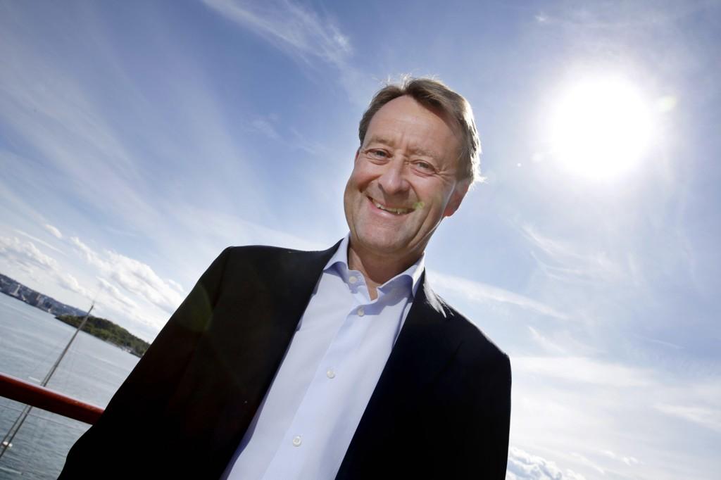 LYSERE TIDER. Bjørn Rune Gjelsten er hovedaksjonær i Kid Interiør, som opplever sterk salgsvekst.