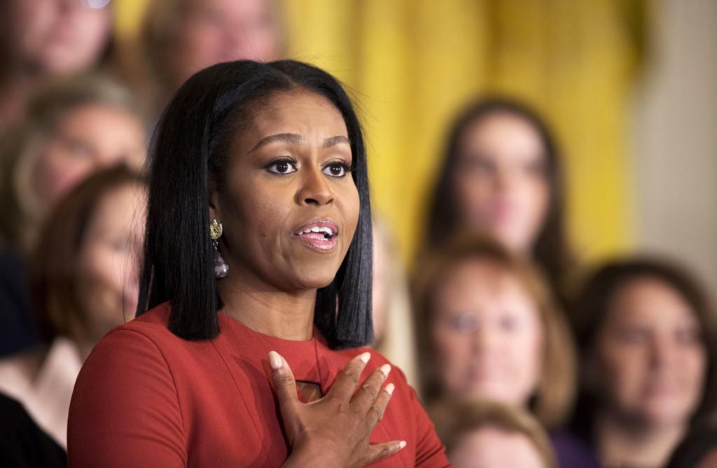MICHELLE OBAMA holdt en inkluderende sistetale som førstedame i USA.