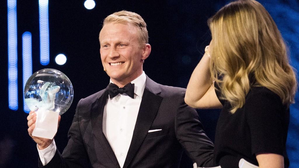 RØRT: Stig-André Berge vant «utøvernes pris» og «årets forbilde».