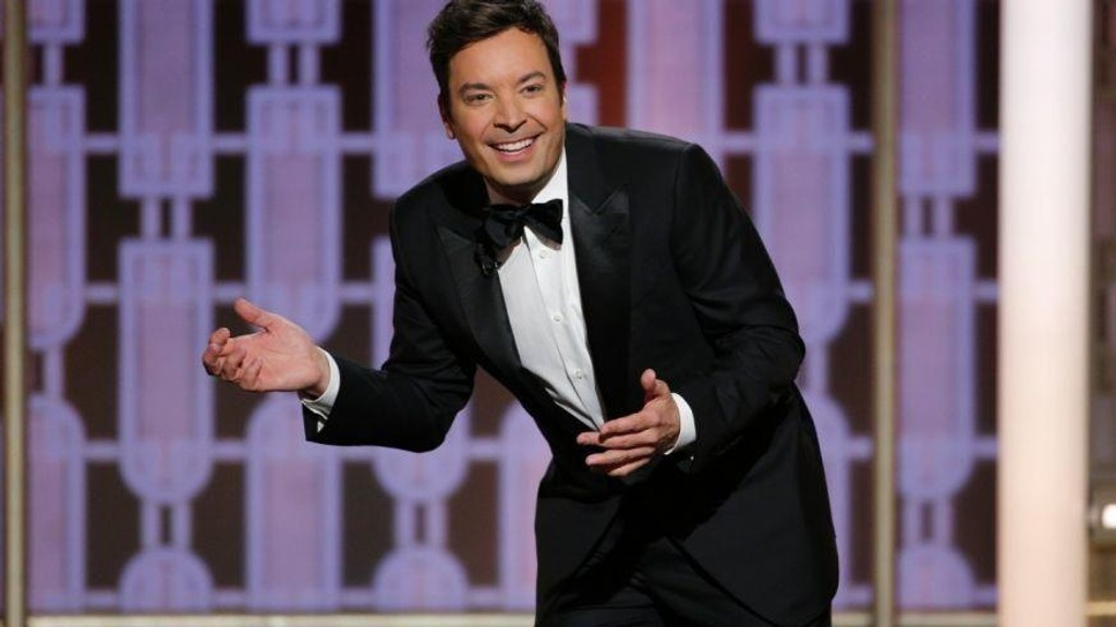 Jimmy Fallon under nattens Golden Globe-utdeling.