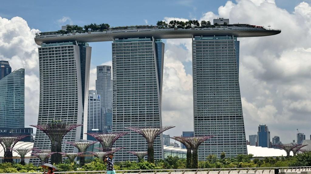 Illustrasjonsfoto fra Singapore: Marina Bay Sands.
