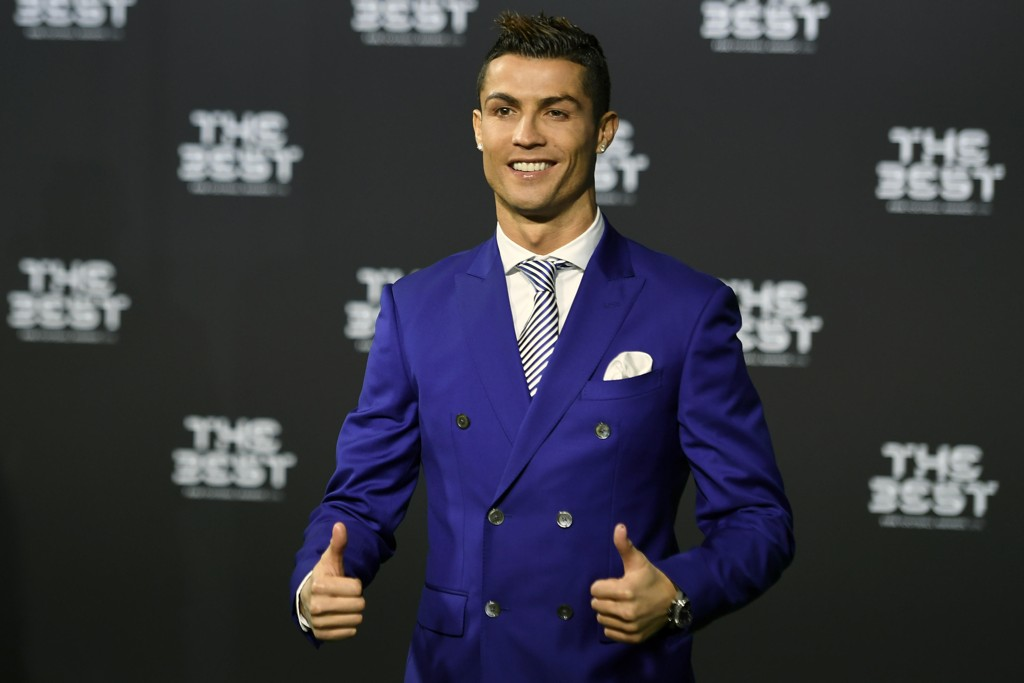 ÅRETS SPILLER: Real Madrids Cristiano Ronaldo.