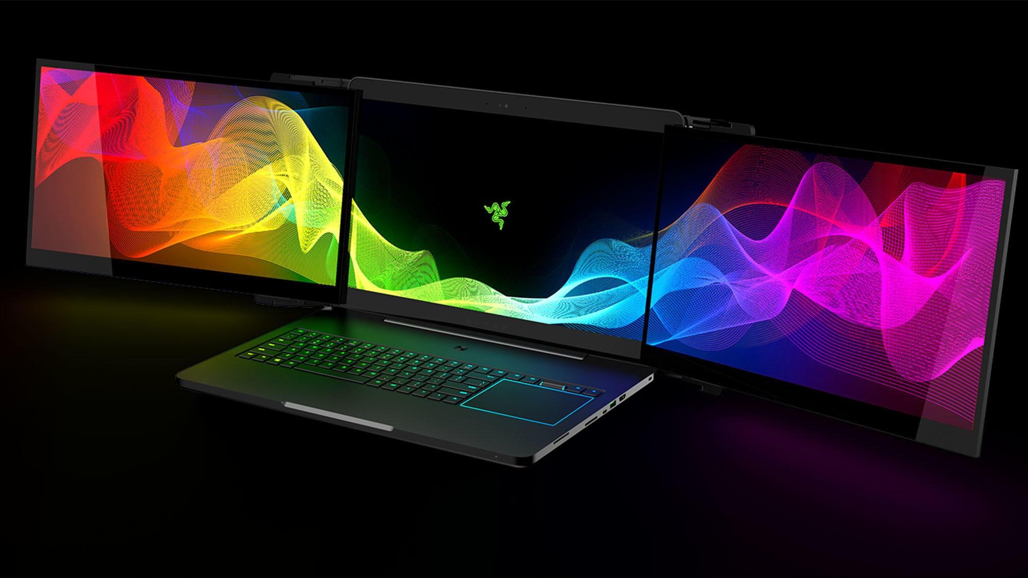 Razr har designet en bærbar PC med tre 17