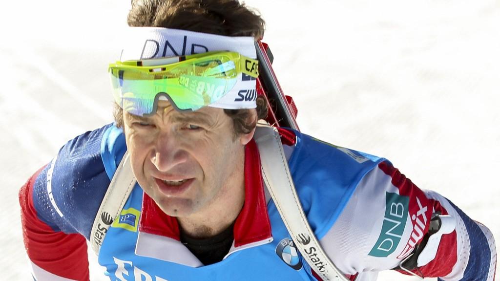GOD ETAPPE: Ole Einar Bjørndalen gikk en god etappe og sendte Vetle Sjåstad Christiansen ut på tredjeplass etter den første etappen.