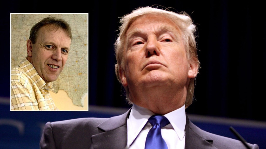 I KONFLIKT: USA-ekspert Svein Melby mener Donald Trump er i en dyp konflikt med USAs etterretningstjeneste.