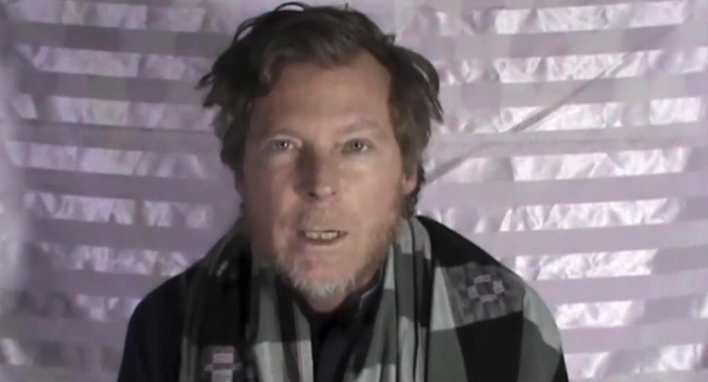 KIDNAPPET: Australieren Timothy Weekes er en av de som blir vist fram i den nye videoen.