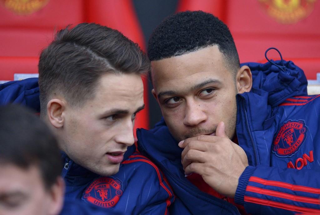 HEMMELIGHETER? Manchester Uniteds Memphis Depay (til høyre) og Sunderland-utleide Adnan Januzaj skal begge være på innkjøpslista til en fransk storklubb.