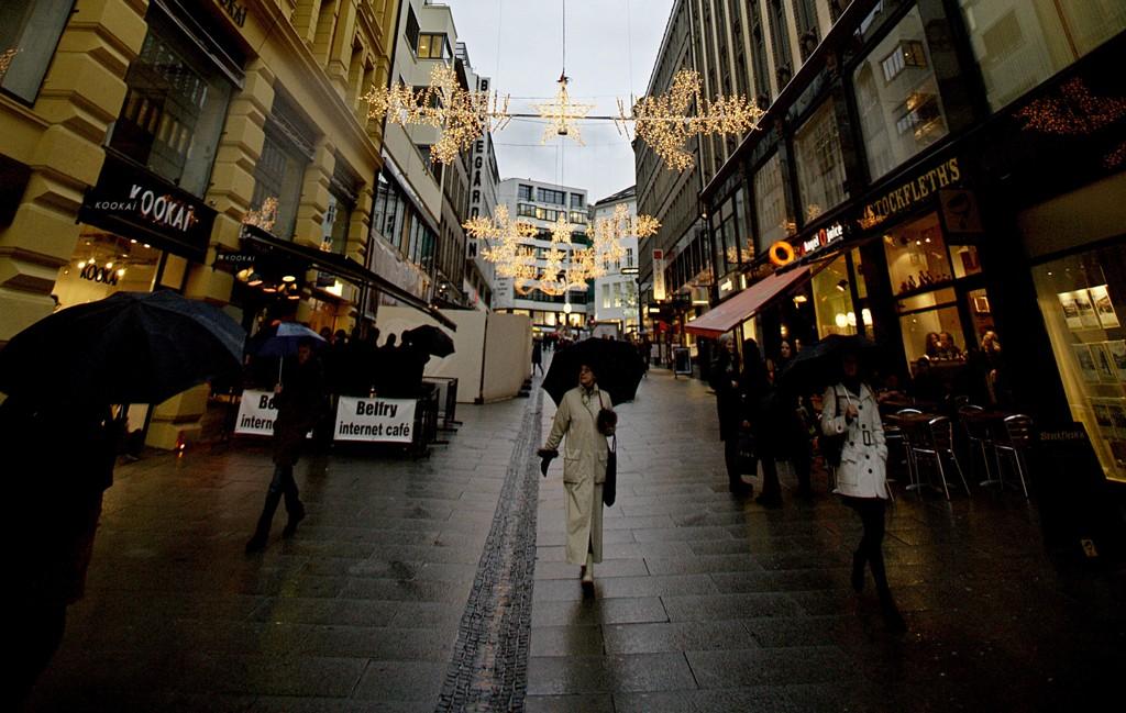 MANGE REISTE BORT:Hver fjerde person i Oslo reiste bort fra byen i julen. Samtidig var det en voldsom vekst i befolkningstettheten i Innlandet, viser en ny testanalyse fra Telenor. Illustrasjonsfoto: Scanpix