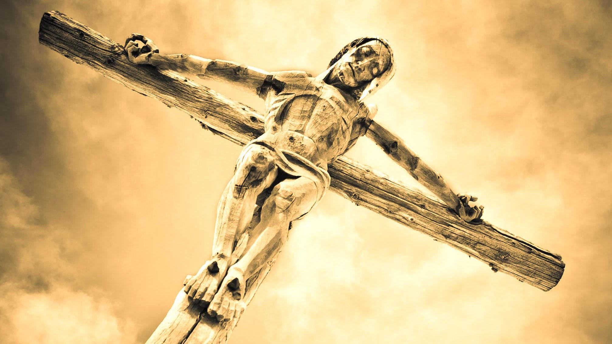 DEN ULYKKELIGE FREDAGEN: Ifølge Bibelen ble Kristus korsfestet på en fredag.