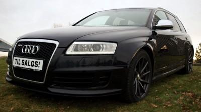 AUDI RS6: I utgangspunktet spyttet den 5-liters V10-motoren ut 580 hk, men takket være den anerkjente Audi-tuneren ABT, yter bilen som nå er til salgs på bruktmarkedet 750 hestekrefter!