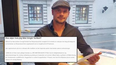 Adam Ahlquist har fått trusselbrev fra Njord Law Firm. 12.000 andre norske nettbrukere kan snart få det samme.