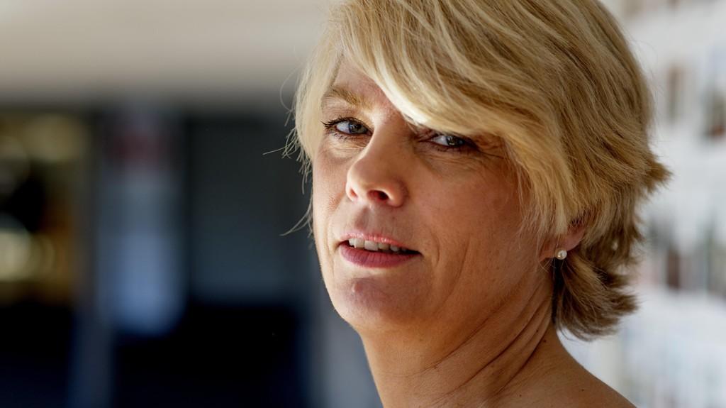 NY LEDER: Kristin Gunleiksrud Raaum (54) ble valgt til ny leder av kirkerådet under kirkemøtet i Trondheim, mandag.