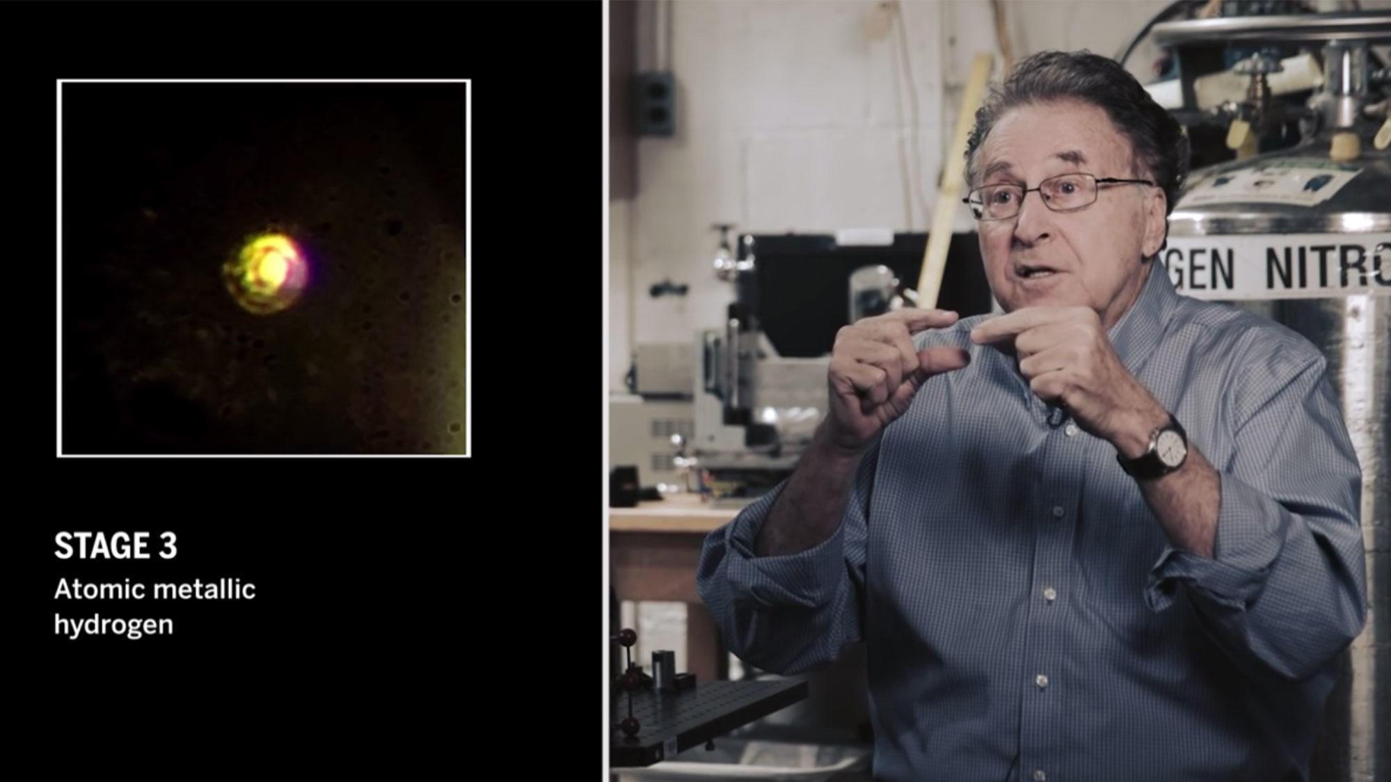 Professoir Isaac Silvera ved Harvard hevder han har klart å fremstille et metall som kan endre nesten alt.
