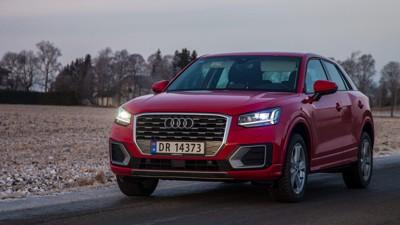 En kan få inntrykk av at Audis designere har fått litt mer frihet til å gjøre spesielle ting på Q2 enn andre Audi-modeller.