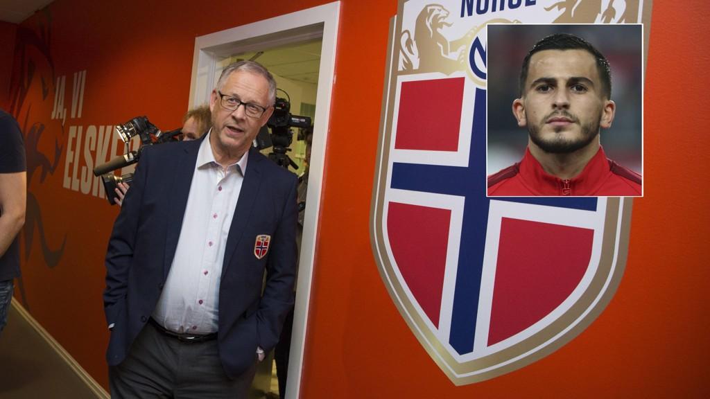 NY SJEF: Omar Elabdellaoui gleder seg til tiden under Lars Lagerbäck.