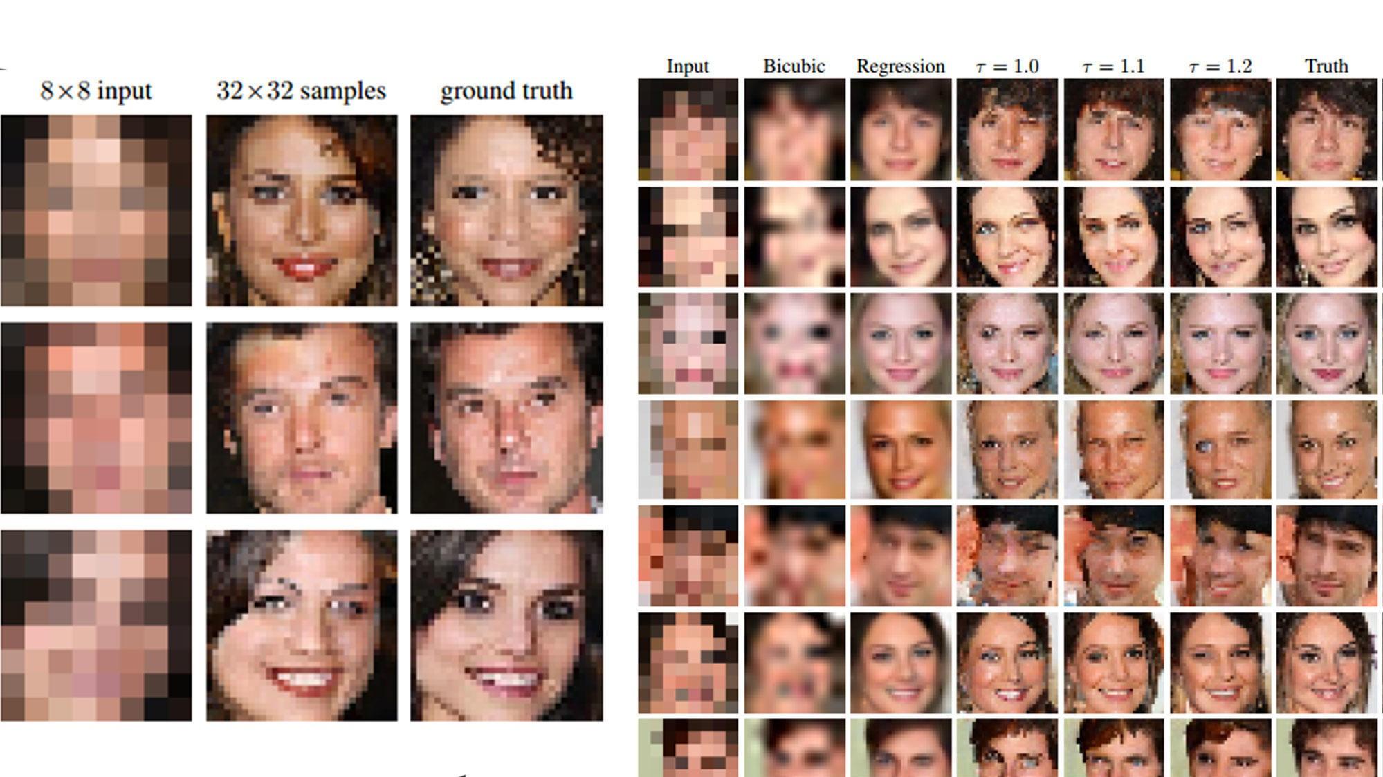 Googles nye bildeteknologi kan gjette seg frem til hvordan et bilde med ekstremt lav oppløsning egentlig ser ut.