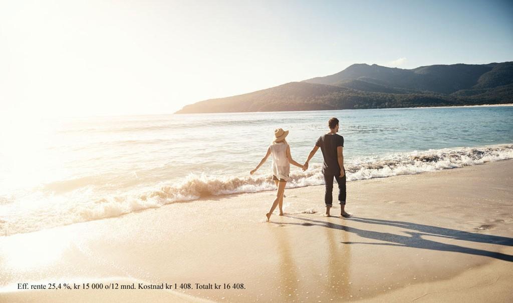 Bestiller du ferien din med kredittkort fra re:member, er reiseforsikring inkludert.