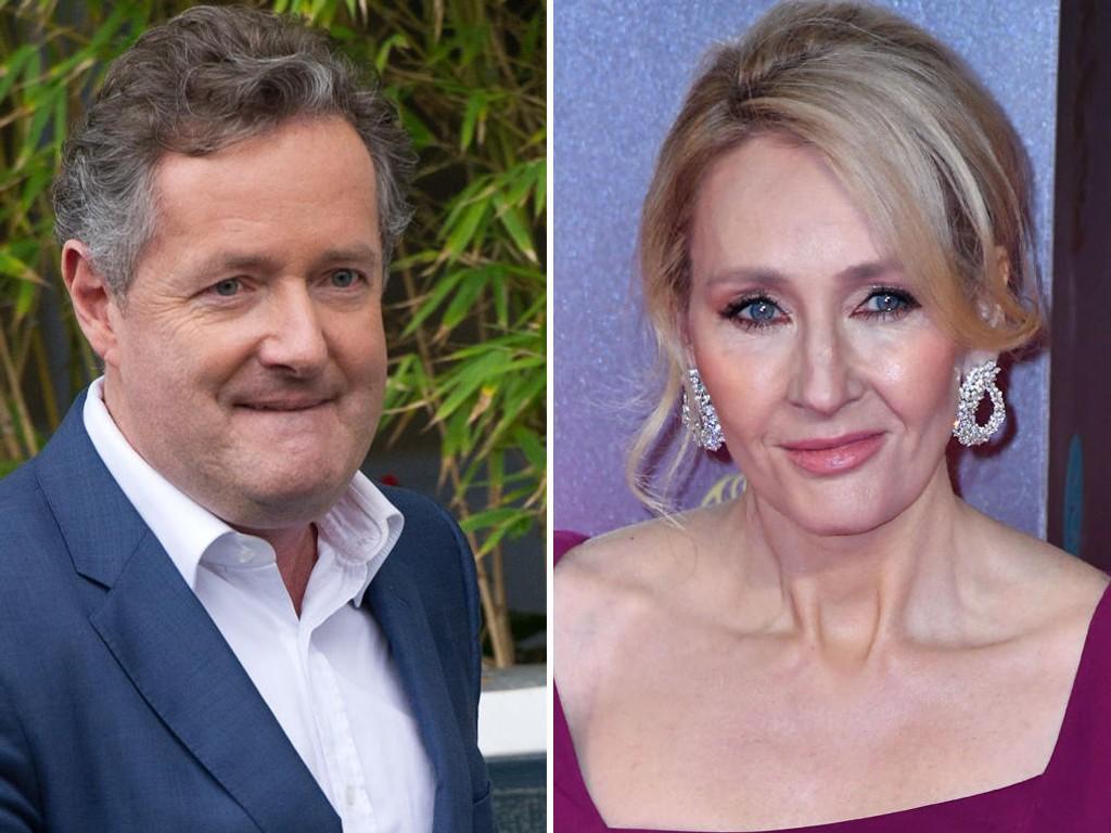 KRANGLER PÅ TWITTER: JK Rowling fikk støtte fra uventet hold da Piers Morgan ble kraftig fornærmet.