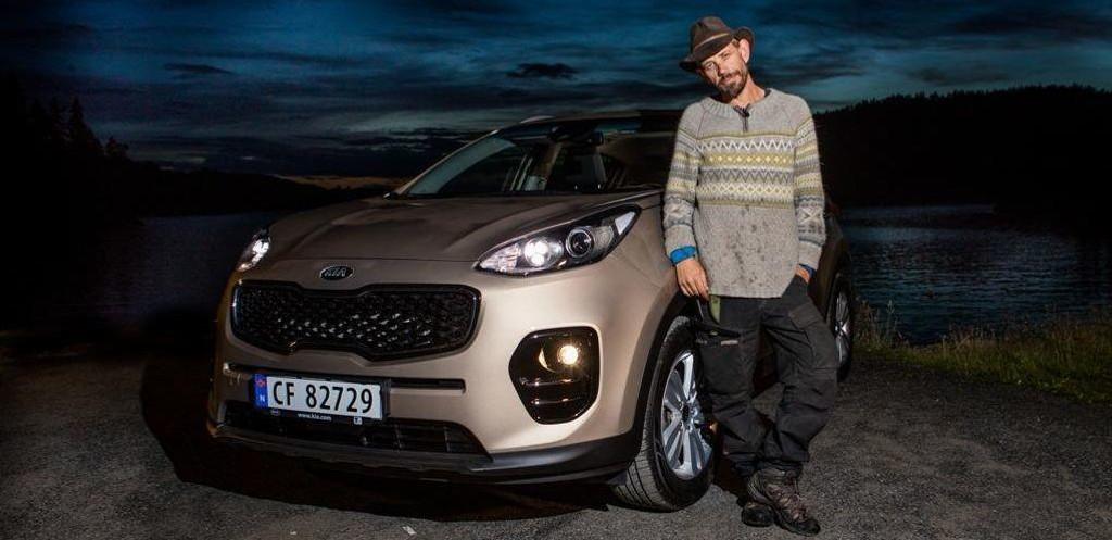 VANT BIL: Leif Einar Lothe fikk en bil i premie da han vant Farmen kjendis. Den må han skatte av.