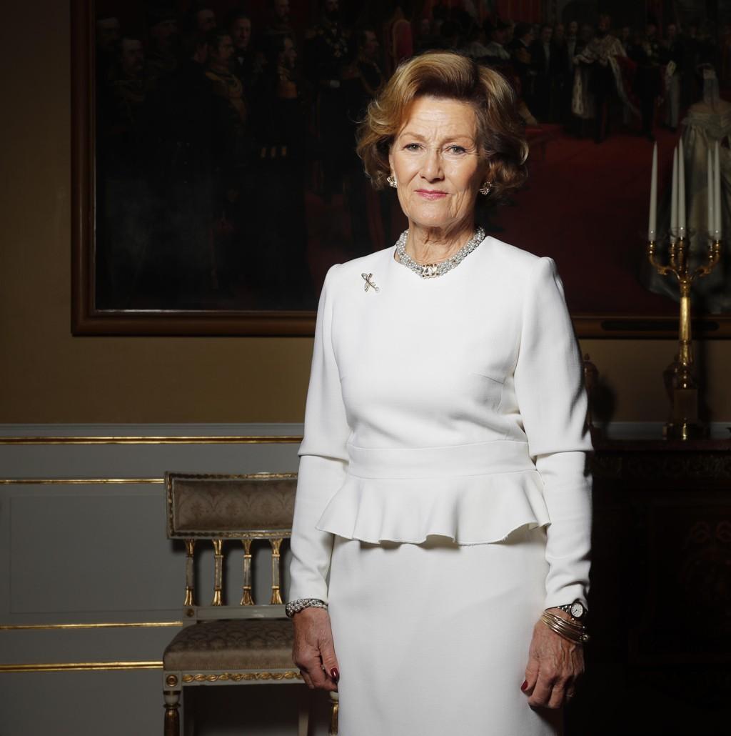 – I næringslivet har vi fremdeles dette glasstaket som vi snakker om. Det er få kvinner i det aller øverste sjiktet, sier dronning Sonja.