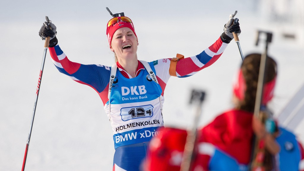 Marte Olsbu gikk Norge inn til gullmedalje under VM-stafetten i Holmenkollen sist sesong.