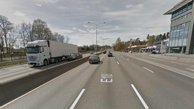 Byrådet i Oslo ønsker å konvertere denne motorveien til en bygate og bygge tett med bebyggelse rundt.
