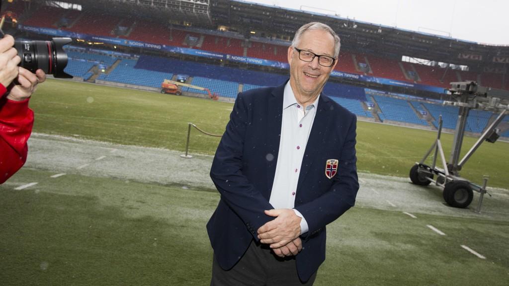 SPESIELT: Lars Lagarbäck ser frem til å lede Norge mot sine landsmenn.
