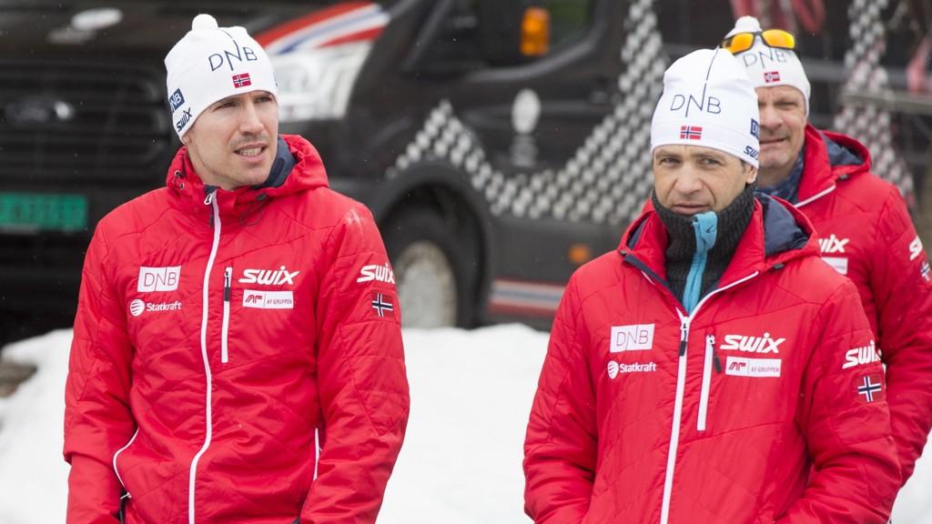 KLAR TALE: Bjørndalen mener Emil Hegle Svendsen må snu den dårlige trenden selv.