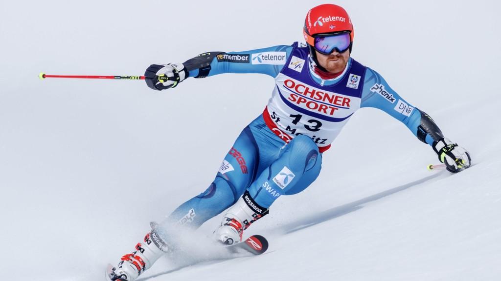 BRONSE-HAUGEN: Leif Kristian Haugen ble beste nordmann i storslalåmrennet i St. Moritz.