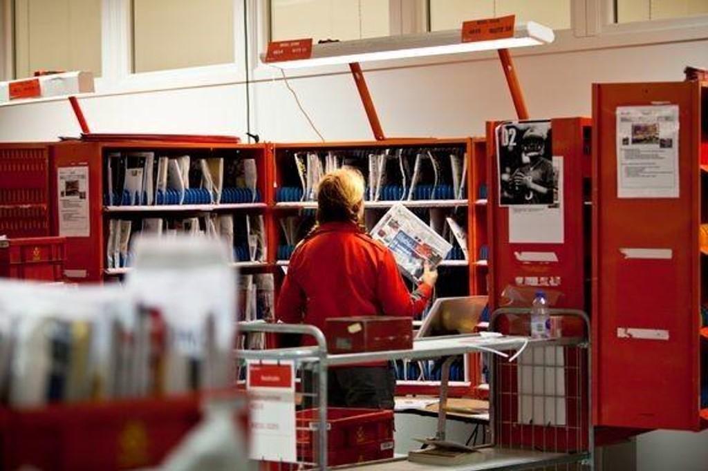NEDBEMANNER: Posten kutter A-posten og de ni brevsorteringsterminalene i Norge skal sentraliseres til tre.