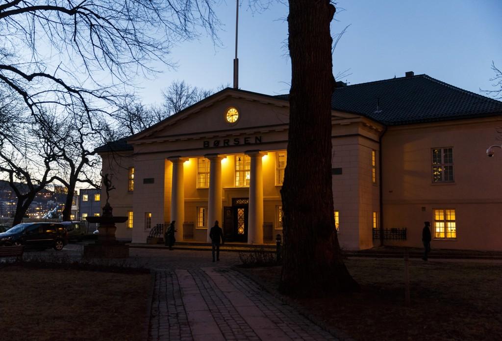 Nedgang på Oslo Børs fredag.
