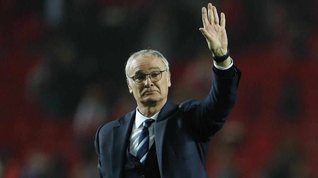 FARVEL: Claudio Ranieri har fått sparken i Leicester.