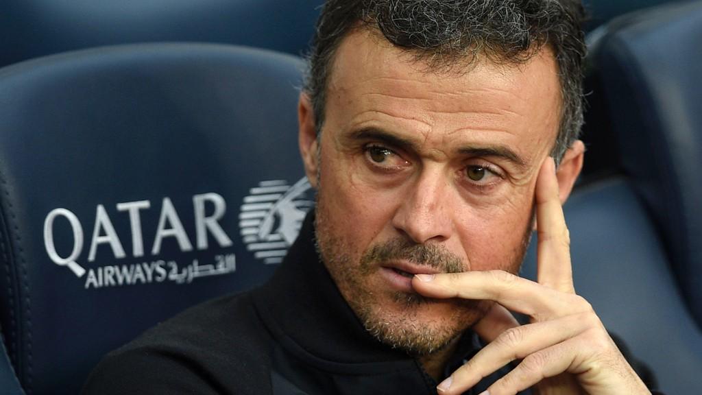 GIR SEG ETTER SESONGE: Luis Enrique gir seg som trener i Barcelona etter denne sesongen.