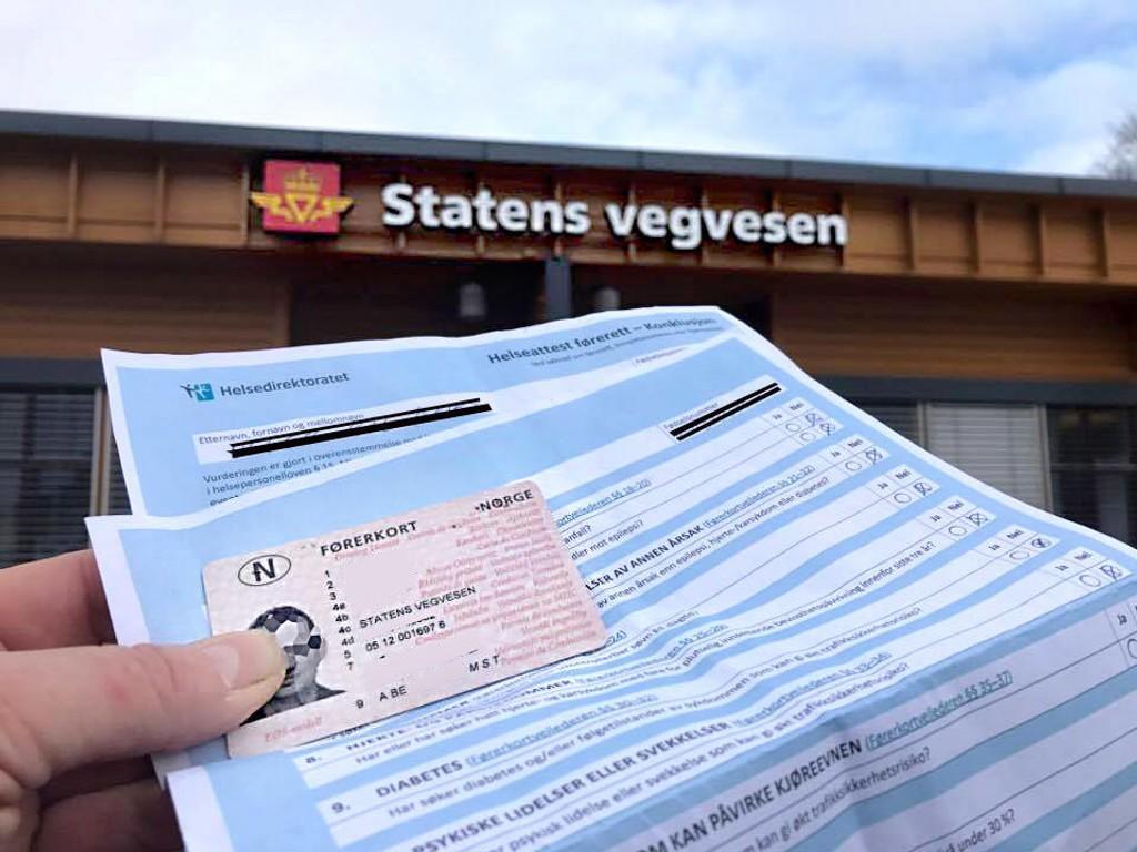 Nytt førerkort ved navneendring