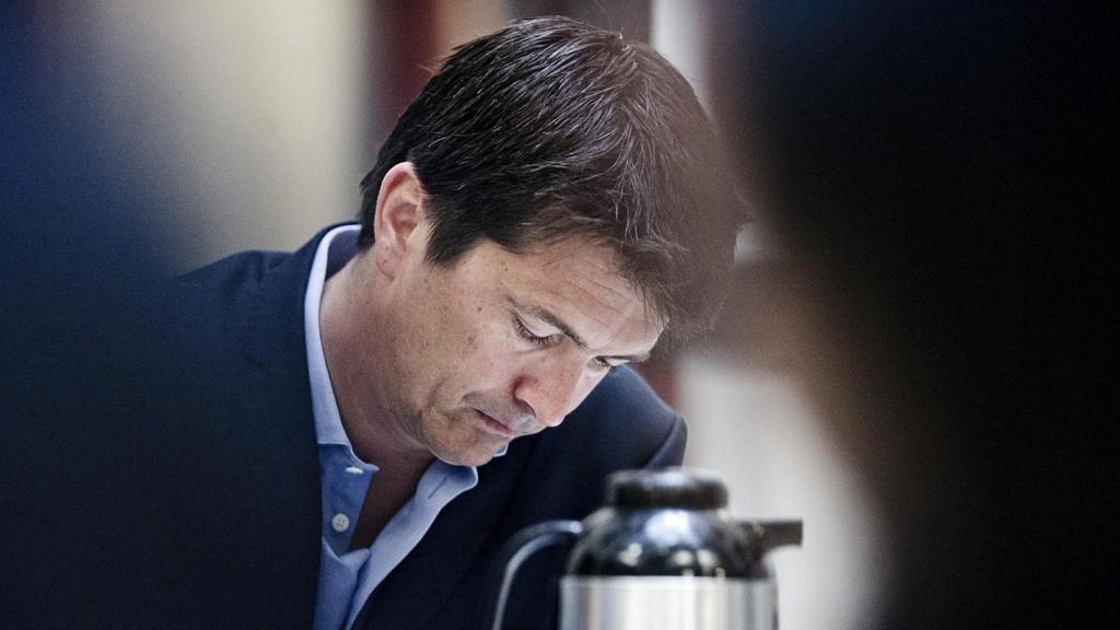 ÆU DA: Administrerende direktør i Rema 1000, Ole Robert Reitan, har fått svært dårlige februar-tall på bordet.