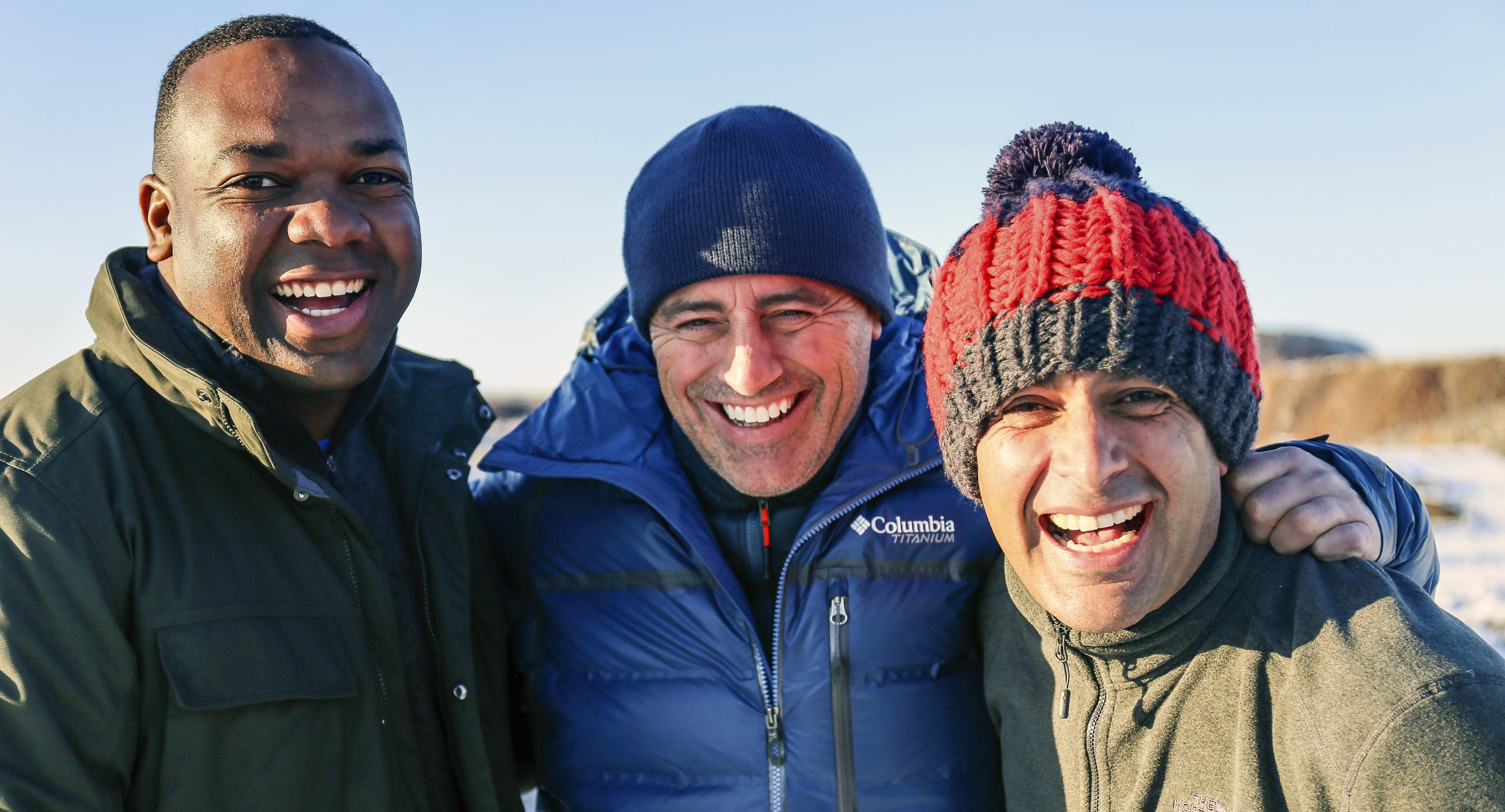 NY TRIO: Rory Reid, Matt LeBlanc og Chris Harris er trioen som leder den 24. sesongen av Top Gear. Premieren i Norge er 9. mars på BBC Brit.