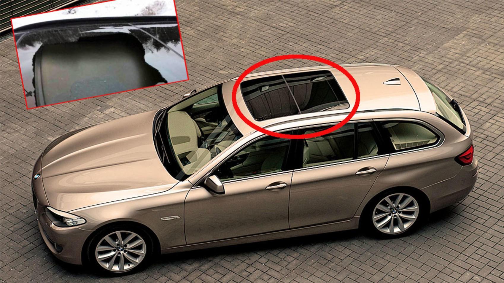 – Fy filler'n for et smell, nå er det glass overalt i bilen, forteller BMW-eieren.