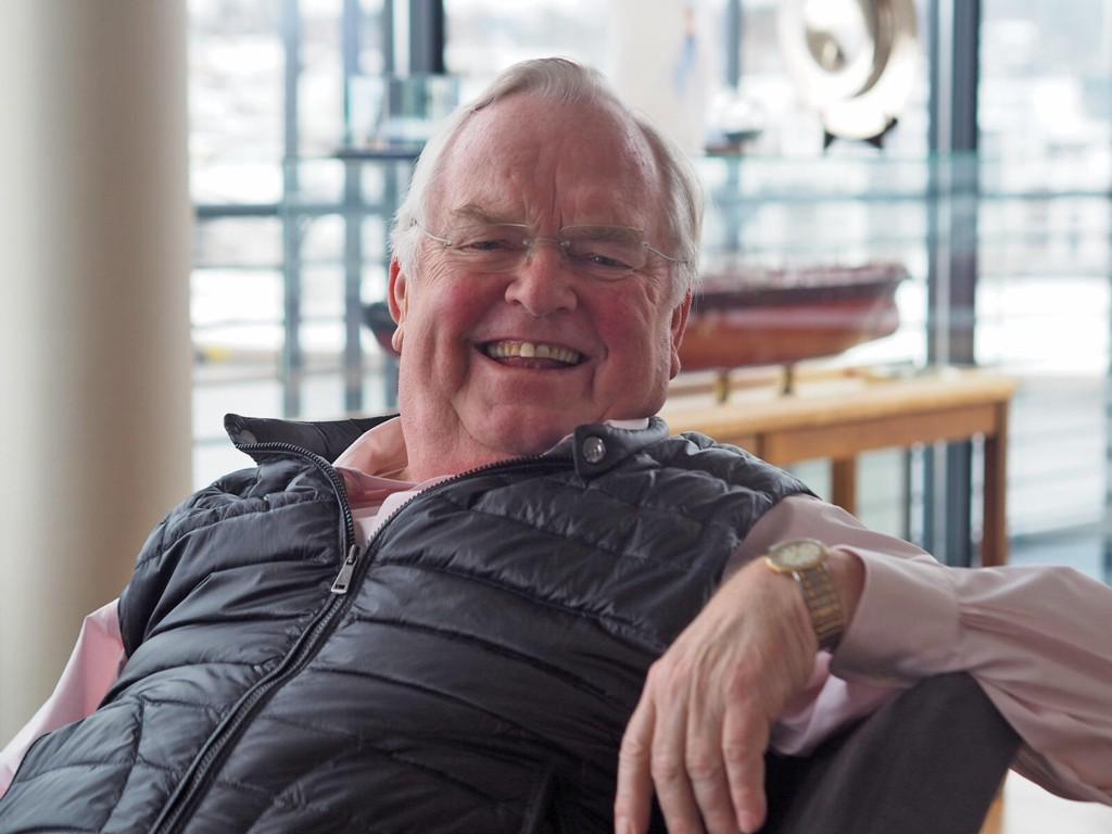 Herbjørn Hansson er toppsjef i Scandic American Shipping, og en ringrev i norsk shipping og business generelt.