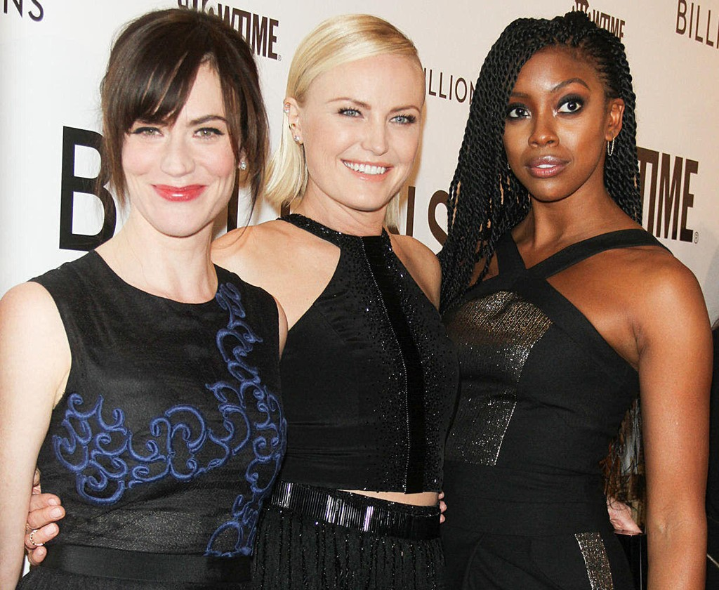 Maggie Siff, Malin Akerman og Condola Rashad har tre av de viktigste rollene i HBO-serien Billions.
