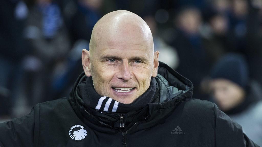 I FØRINGEN: Ståle Solbakken og FC København ligger godt an til å sikre seg kvartfinale i europaligaen.
