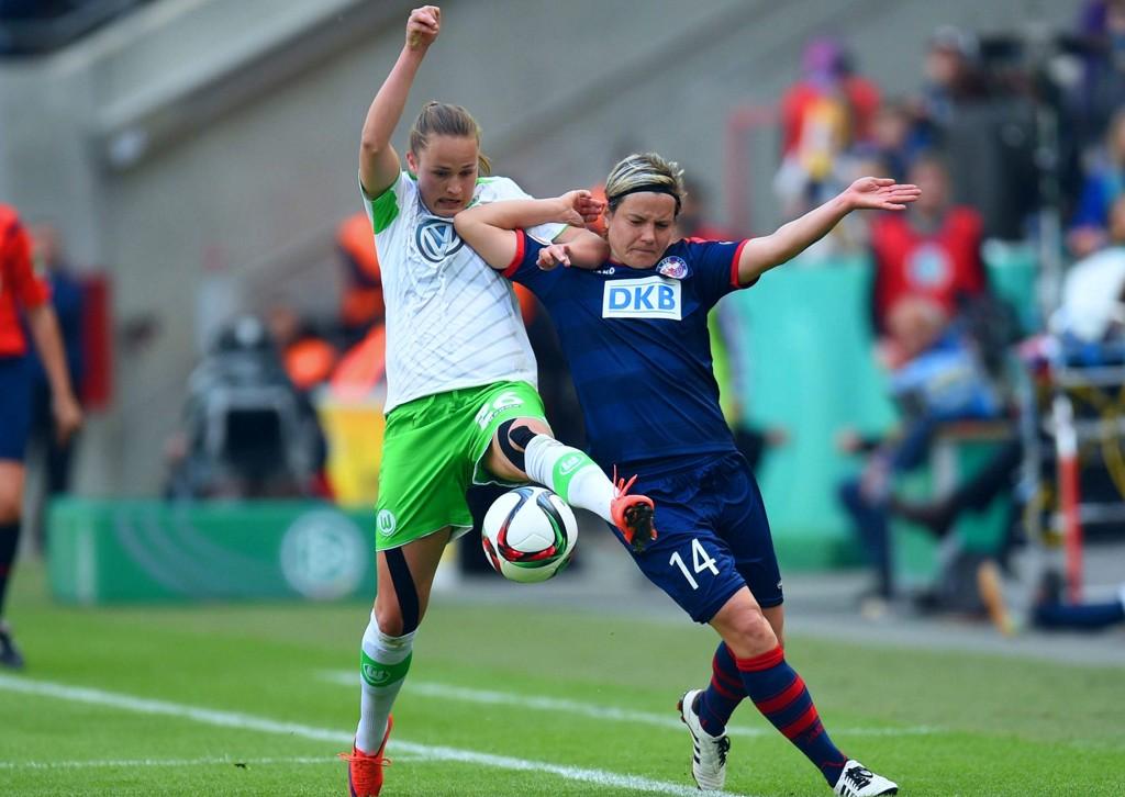 VISTE FORM: Wolfsburg og Caroline Graham Hansen. Her fra en tidligere kamp.