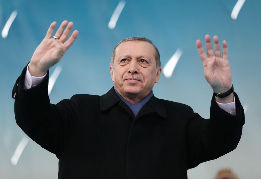 JOKER: Tyrkias president Recep Tayyip Erdogan.